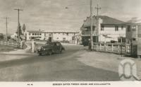 "<span class=""caption-caption"">Border gates, Tweed Heads and Coolangatta</span>, c1932. <br />Postcard by <span class=""caption-publisher"">Murray Views Pty Ltd</span>, collection of <span class=""caption-contributor"">Centre for the Government of Queensland</span>."
