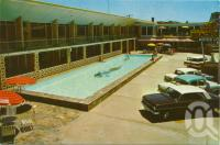 "<span class=""caption-caption"">The Beachcomber Motor Lodge, Coolangatta</span>, c1964. <br />Postcard by <span class=""caption-publisher"">Murfett Publishers Pty Ltd</span>, collection of <span class=""caption-contributor"">Centre for the Government of Queensland</span>."