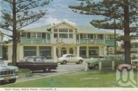 "<span class=""caption-caption"">Beach House, Marine Parade, Coolangatta</span>, 1962. <br />Postcard folder by <span class=""caption-publisher"">Murray Views Pty Ltd</span>, collection of <span class=""caption-contributor"">Centre for the Government of Queensland</span>."