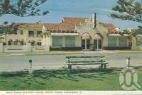 "<span class=""caption-caption"">Hotel Grande and Palm Lounge, Marine Parade, Coolangatta</span>, 1962. <br />Postcard folder by <span class=""caption-publisher"">Murray Views Pty Ltd</span>, collection of <span class=""caption-contributor"">Centre for the Government of Queensland</span>."