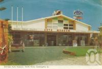 "<span class=""caption-caption"">Gilltraps Auto Museum, North Kirra, Coolangatta</span>, 1962. <br />Postcard folder by <span class=""caption-publisher"">Murray Views Pty Ltd</span>, collection of <span class=""caption-contributor"">Centre for the Government of Queensland</span>."
