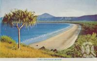"<span class=""caption-caption"">Port Douglas Beach</span>, c1960. <br />Postcard folder by <span class=""caption-publisher"">GK Bolton</span>, collection of <span class=""caption-contributor"">Centre for the Government of Queensland</span>."