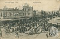 "<span class=""caption-caption"">Sportsday East Street, Rockhampton</span>, 1920. <br />Postcard by <span class=""caption-publisher"">Wm Munro & Co</span>, collection of <span class=""caption-contributor"">Centre for the Government of Queensland</span>."