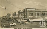 "<span class=""caption-caption"">East Street, Rockhampton</span>, c1954. <br />Postcard by <span class=""caption-publisher"">Murray Views Pty Ltd</span>, collection of <span class=""caption-contributor"">Centre for the Government of Queensland</span>."