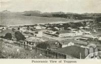 "<span class=""caption-caption"">Panoramic view of Yeppoon</span>, c1938. <br />Postcard folder by <span class=""caption-publisher"">Unknown Publisher</span>, collection of <span class=""caption-contributor"">Centre for the Government of Queensland</span>."