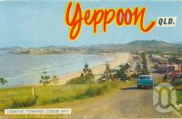 "<span class=""caption-caption"">Looking towards Coo-ee Bay, Yeppoon</span>, 1965. <br />Postcard folder by <span class=""caption-publisher"">Murray Views Pty Ltd</span>, collection of <span class=""caption-contributor"">Centre for the Government of Queensland</span>."