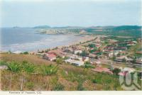 "<span class=""caption-caption"">Panorama of Yeppoon</span>, 1965. <br />Postcard folder by <span class=""caption-publisher"">Murray Views Pty Ltd</span>, collection of <span class=""caption-contributor"">Centre for the Government of Queensland</span>."
