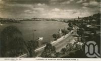 "<span class=""caption-caption"">Panorama of Hamilton Reach, Brisbane River</span>, c1938. <br />Postcard by <span class=""caption-publisher"">Sidues Series</span>, collection of <span class=""caption-contributor"">Centre for the Government of Queensland</span>."