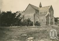 "<span class=""caption-caption"">Church of Sacred Heart, Stanton Hill, Townsville</span>, c1938. <br />Postcard by <span class=""caption-publisher"">Unknown Publisher</span>, collection of <span class=""caption-contributor"">Centre for the Government of Queensland</span>."