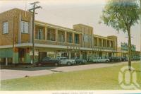 "<span class=""caption-caption"">North Gregory Hotel, Winton</span>, c1960. <br />Postcard folder by <span class=""caption-publisher"">Murray Views Pty Ltd</span>, collection of <span class=""caption-contributor"">Centre for the Government of Queensland MS</span>."
