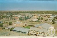 "<span class=""caption-caption"">Panorama from water tower, Winton</span>, c1960. <br />Postcard folder by <span class=""caption-publisher"">Murray Views Pty Ltd</span>, collection of <span class=""caption-contributor"">Centre for the Government of Queensland MS</span>."