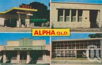 "<span class=""caption-caption"">Alpha</span>, c1974. <br />Postcard by <span class=""caption-publisher"">Pitt</span>, collection of <span class=""caption-contributor"">Centre for the Government of Queensland MS</span>."