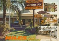 "<span class=""caption-caption"">Golden West Motor Inn, Miles</span>, c1980. <br />Postcard by <span class=""caption-publisher"">Murray Views Pty Ltd</span>, collection of <span class=""caption-contributor"">Centre for the Government of Queensland MS</span>."
