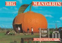 "<span class=""caption-caption"">Big Mandarin, Mundubbera</span>, c1984. <br />Postcard by <span class=""caption-publisher"">Wren Souvenirs</span>, collection of <span class=""caption-contributor"">Centre for the Government of Queensland MS</span>."