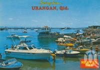 """<span class=""""caption-caption"""">Urangan, Hervey Bay</span>, 1985. <br />Postcard by <span class=""""caption-publisher"""">Bernard Kuskopf</span>, collection of <span class=""""caption-contributor"""">Centre for the Government of Queensland</span>."""