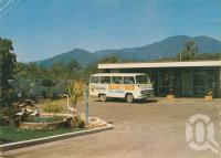 "<span class=""caption-caption"">Scenic Bus Tour, Cardwell</span>, c1974. <br />Postcard by <span class=""caption-publisher"">GK Bolton</span>, collection of <span class=""caption-contributor"">Centre for the Government of Queensland</span>."