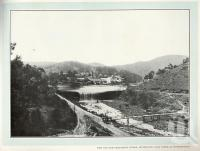 "<span class=""caption-caption"">Dam and ore treatment works, Irvinebank</span>. <br />From <span class=""caption-book"">Album of views in Queensland: Cairns District</span>, <span class=""caption-publisher"">AJ Cumming</span>, 1915, collection of <span class=""caption-contributor"">Fryer Library, UQ</span>."