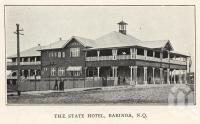 "<span class=""caption-caption"">The State Hotel, Babinda</span>. <br />From <span class=""caption-book"">The Wonderland of the North</span>, <span class=""caption-publisher"">Queensland Government Intelligence and Tourist Bureau</span>, 1923, collection of <span class=""caption-contributor"">Fryer Library, UQ</span>."