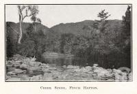 "<span class=""caption-caption"">Creek scene, Finch Hatton</span>. <br />From <span class=""caption-book"">The Mackay District</span>, <span class=""caption-publisher"">Queensland Government Intelligence and Tourist Bureau</span>, 1929, collection of <span class=""caption-contributor"">Fryer Library, UQ</span>."