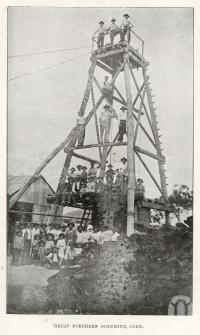 "<span class=""caption-caption"">Great Northern Goldmine, Coen</span>. <br />From <span class=""caption-book"">North Queensland, Australia</span>, <span class=""caption-publisher"">Queensland Government Intelligence and Tourist Bureau</span>, 1908, collection of <span class=""caption-contributor"">Fryer Library, UQ</span>."