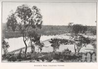 "<span class=""caption-caption"">Burdekin Weir, Charters Towers</span>. <br />From <span class=""caption-book"">North Queensland</span>, <span class=""caption-publisher"">Government Printer</span>, 1920, collection of <span class=""caption-contributor"">Fryer Library, UQ</span>."