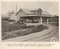 "<span class=""caption-caption"">Factory of the Atherton Tableland Butter and Bacon Co-operative Company, Ltd, Golden Grove, Atherton (Atherton Tableland)</span>. <br />From <span class=""caption-book"">Tablelands of North Queensland</span>, <span class=""caption-publisher"">Queensland Government Intelligence and Tourist Bureau</span>, 1918, collection of <span class=""caption-contributor"">Fryer Library, UQ</span>."