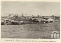 "<span class=""caption-caption"">Panorama of Atherton, the principal town on the Atherton Tableland</span>. <br />From <span class=""caption-book"">Tablelands of North Queensland</span>, <span class=""caption-publisher"">Queensland Government Intelligence and Tourist Bureau</span>, 1918, collection of <span class=""caption-contributor"">Fryer Library, UQ</span>."