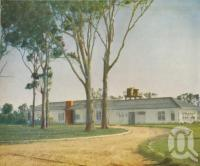 "<span class=""caption-caption"">The hostel at Petrie</span>, 1957. <br />Booklet, collection of <span class=""caption-contributor"">John Young</span>."