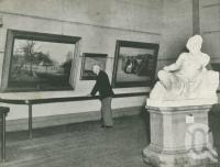 "<span class=""caption-caption"">Art Gallery, Bowen Hills</span>, 1949. <br />Booklet, collection of <span class=""caption-contributor"">John Young</span>."