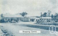 "<span class=""caption-caption"">Tinaroo shopping centre</span>, 1958. <br />Brochure, collection of <span class=""caption-contributor"">John Young</span>."