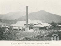 "<span class=""caption-caption"">Cattle Creek Sugar Mill, Finch Hatton</span>. <br />From <span class=""caption-book"">The Mackay District</span>, <span class=""caption-creator"">Queensland Government Intelligence and Tourist Bureau</span>, Brisbane, 1924, collection of <span class=""caption-contributor"">Centre for the Government of Queensland</span>."