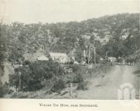 "<span class=""caption-caption"">Vulcan tin mine, near Irvinebank</span>. <br />From <span class=""caption-book"">Tours in the Cairns District, Handbook to Cairns and Hinterland</span>, <span class=""caption-creator"">Queensland Railways</span>, Brisbane, 1912, collection of <span class=""caption-contributor"">Centre for the Government of Queensland</span>."