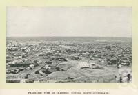 "<span class=""caption-caption"">Panoramic view of Charters Towers</span>. <br />From <span class=""caption-book"">Glimpses of Sunny Queensland (2nd edition)</span>, <span class=""caption-creator"">Queensland Government Intelligence and Tourist Bureau</span>, Brisbane, 1912, collection of <span class=""caption-contributor"">Centre for the Government of Queensland</span>."