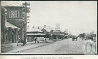 "<span class=""caption-caption"">Cunningham Street, Dalby (looking east)</span>. <br />From <span class=""caption-book"">Glimpses of Sunny Queensland (3rd edition)</span>, <span class=""caption-creator"">Queensland Government Intelligence and Tourist Bureau</span>, Brisbane, 1914, collection of <span class=""caption-contributor"">Centre for the Government of Queensland</span>."