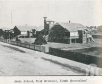 "<span class=""caption-caption"">State school, East Brisbane</span>. <br />From <span class=""caption-book"">The Pocket Queensland</span>, <span class=""caption-creator"">Queensland Government Intelligence and Tourist Bureau</span>, Brisbane, 1921, collection of <span class=""caption-contributor"">Centre for the Government of Queensland</span>."