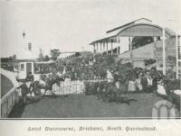 "<span class=""caption-caption"">Ascot Racecourse</span>. <br />From <span class=""caption-book"">The Pocket Queensland</span>, <span class=""caption-creator"">Queensland Government Intelligence and Tourist Bureau</span>, Brisbane, 1921, collection of <span class=""caption-contributor"">Centre for the Government of Queensland</span>."
