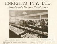 "<span class=""caption-caption"">Enrights Pty Ltd, Beaudesert</span>. <br />From <span class=""caption-book"">Official Souvenir Beaudesert and National Park Lamington Plateau</span>, <span class=""caption-creator"">Beaudesert Shire Council</span>, Brisbane, 1935, collection of <span class=""caption-contributor"">Centre for the Government of Queensland</span>."
