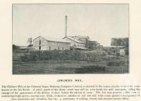 "<span class=""caption-caption"">Childers Mill</span>. <br />From <span class=""caption-book"">The Burnett and Isis Pictorial</span>, <span class=""caption-creator"">Richards & Kingdon</span>, Bundaberg, 1927, collection of <span class=""caption-contributor"">Centre for the Government of Queensland</span>."