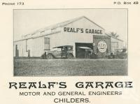 "<span class=""caption-caption"">Realf's Garage, Childers</span>. <br />From <span class=""caption-book"">The Burnett and Isis Pictorial</span>, <span class=""caption-creator"">Richards & Kingdon</span>, Bundaberg, 1927, collection of <span class=""caption-contributor"">Centre for the Government of Queensland</span>."