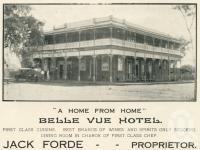"<span class=""caption-caption"">Belle Vue Hotel, Childers</span>. <br />From <span class=""caption-book"">The Burnett and Isis Pictorial</span>, <span class=""caption-creator"">Richards & Kingdon</span>, Bundaberg, 1927, collection of <span class=""caption-contributor"">Centre for the Government of Queensland</span>."