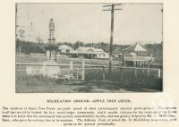 "<span class=""caption-caption"">Recreation ground, Apple Tree Creek</span>. <br />From <span class=""caption-book"">The Burnett and Isis Pictorial</span>, <span class=""caption-creator"">Richards & Kingdon</span>, Bundaberg, 1927, collection of <span class=""caption-contributor"">Centre for the Government of Queensland</span>."