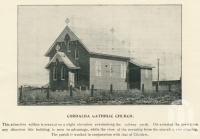 "<span class=""caption-caption"">Cordalba Catholic Church</span>. <br />From <span class=""caption-book"">The Burnett and Isis Pictorial</span>, <span class=""caption-creator"">Richards & Kingdon</span>, Bundaberg, 1927, collection of <span class=""caption-contributor"">Centre for the Government of Queensland</span>."