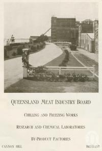 "<span class=""caption-caption"">Queensland Meat Industry Board, Cannon Hill</span>. <br />From <span class=""caption-book"">Brisbane, Australia's Sunshine City, Souvenir Commemorating the Visit of HRH The Dule of Gloucester</span>, <span class=""caption-creator"">Brisbane City Council</span>, Brisbane, 1934, collection of <span class=""caption-contributor"">Centre for the Government of Queensland</span>."