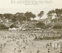 "<span class=""caption-caption"">Spanish architecture style kiosk, and beach Sandgate</span>. <br />From <span class=""caption-book"">Brisbane, Australia's Sunshine City, Souvenir Commemorating the Visit of HRH The Dule of Gloucester</span>, <span class=""caption-creator"">Brisbane City Council</span>, Brisbane, 1934, collection of <span class=""caption-contributor"">Centre for the Government of Queensland</span>."