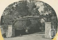 "<span class=""caption-caption"">Entrance to Mount Coot-tha Park</span>. <br />From <span class=""caption-book"">Brisbane, Queensland's Capital</span>, <span class=""caption-creator"">Oswald L. Ziegler</span>, <span class=""caption-publisher"">Brisbane City Council</span>, Brisbane, 1949, collection of <span class=""caption-contributor"">Centre for the Government of Queensland</span>."