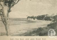 "<span class=""caption-caption"">Scott's Point Beach, which adjoins Margate Beach</span>. <br />From <span class=""caption-book"">Penrod's 150 miles round Brisbane</span>, <span class=""caption-creator"">Penrod Guide Book Company</span>, Brisbane, 1956, collection of <span class=""caption-contributor"">Centre for the Government of Queensland</span>."