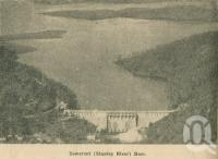"<span class=""caption-caption"">Somerset (Stanley River) Dam</span>. <br />From <span class=""caption-book"">Penrod's 150 miles round Brisbane</span>, <span class=""caption-creator"">Penrod Guide Book Company</span>, Brisbane, 1956, collection of <span class=""caption-contributor"">Centre for the Government of Queensland</span>."