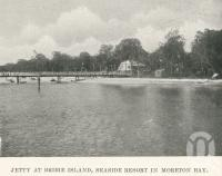 "<span class=""caption-caption"">Jetty at Bribie Island. seaside resort in Moreton Bay</span>. <br />From <span class=""caption-book"">The Pocket Brisbane</span>, <span class=""caption-creator"">Queensland Government Intelligence and Tourist Bureau</span>, Brisbane, 1913, collection of <span class=""caption-contributor"">Centre for the Government of Queensland</span>."