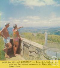 "<span class=""caption-caption"">Millaa Millaa Lookout</span>. <br />From <span class=""caption-book"">Tropical Atherton Tableland</span>, <span class=""caption-creator"">Tableland Tourist Association</span>, c1970, collection of <span class=""caption-contributor"">Centre for the Government of Queensland</span>."
