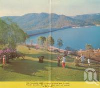 "<span class=""caption-caption"">The Tinaroo Dam</span>. <br />From <span class=""caption-book"">Tropical Atherton Tableland</span>, <span class=""caption-creator"">Tableland Tourist Association</span>, c1970, collection of <span class=""caption-contributor"">Centre for the Government of Queensland</span>."